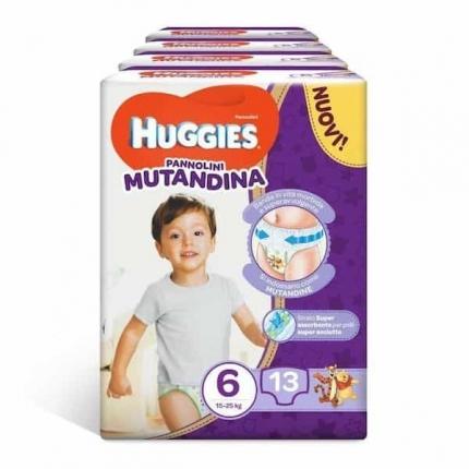 HUGGIES ΠΑΝΕΣ MUTANDINA TG.6 X13