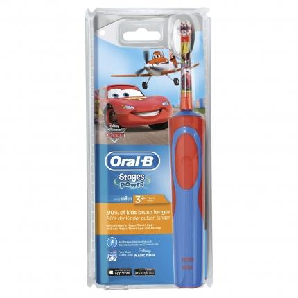 Oral-B Stages Power για παιδιά - Ηλεκτρική Οδοντόβουρτσα με τους χαρακτήρες του Cars