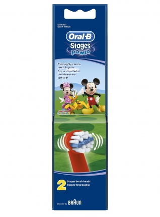 ORAL B ΑΝΤΑΛΛΑΚΤΙΚΑ KIDS (Princess/ mickey/ Cars), 2τεμ