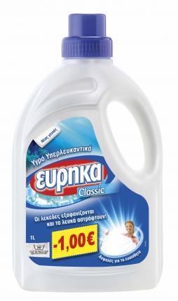 ΕΥΡΗΚΑ ΥΓΡΟ ΥΠΕΡΛΕΥΚΑΝΤΙΚΟ 1LT -1€