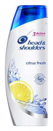 Head & Shoulders Citrus Fresh Αντιπιτυριδικό Σαμπουάν 360ml