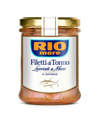RIO MARE ΦΙΛΕΤA ΤΟΝΟΥ AL NATURALE 12x180g