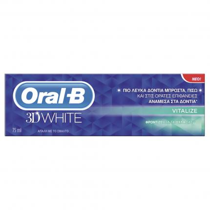 ORAL B 3D WHITE VITALIZE 75 ML