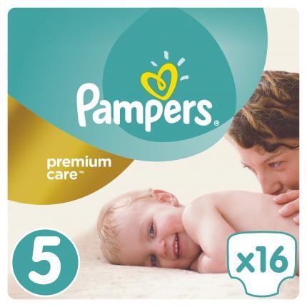 Pampers Premium Care Μέγεθος 5 (11-18), 16 Πάνες