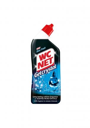 NET WC GEL CRYSTAL BLUE FRESH 12x750ml