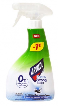 AROXOL PURE & STRONG MEC 24x350ML -1€