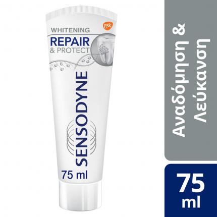 Sensodyne Repair & Protect Whitening, Οδοντόκρεμα για τα Ευαίσθητα Δόντια 75ml