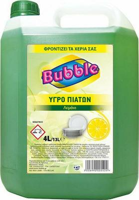 BUBBLE ΥΓΡΟ ΠΙΑΤΩΝ ΛΕΜΟΝΙ 4LT