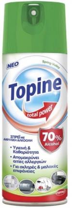TOPINE TOTAL POWER SPRAY MOUNTAIN FRESH 400ML