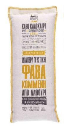 ΦΑΒΑ ΚΟΜΜΕΝΗ ΕΛΛΗΝΙΚΗ 12x500gr AGRIFARM